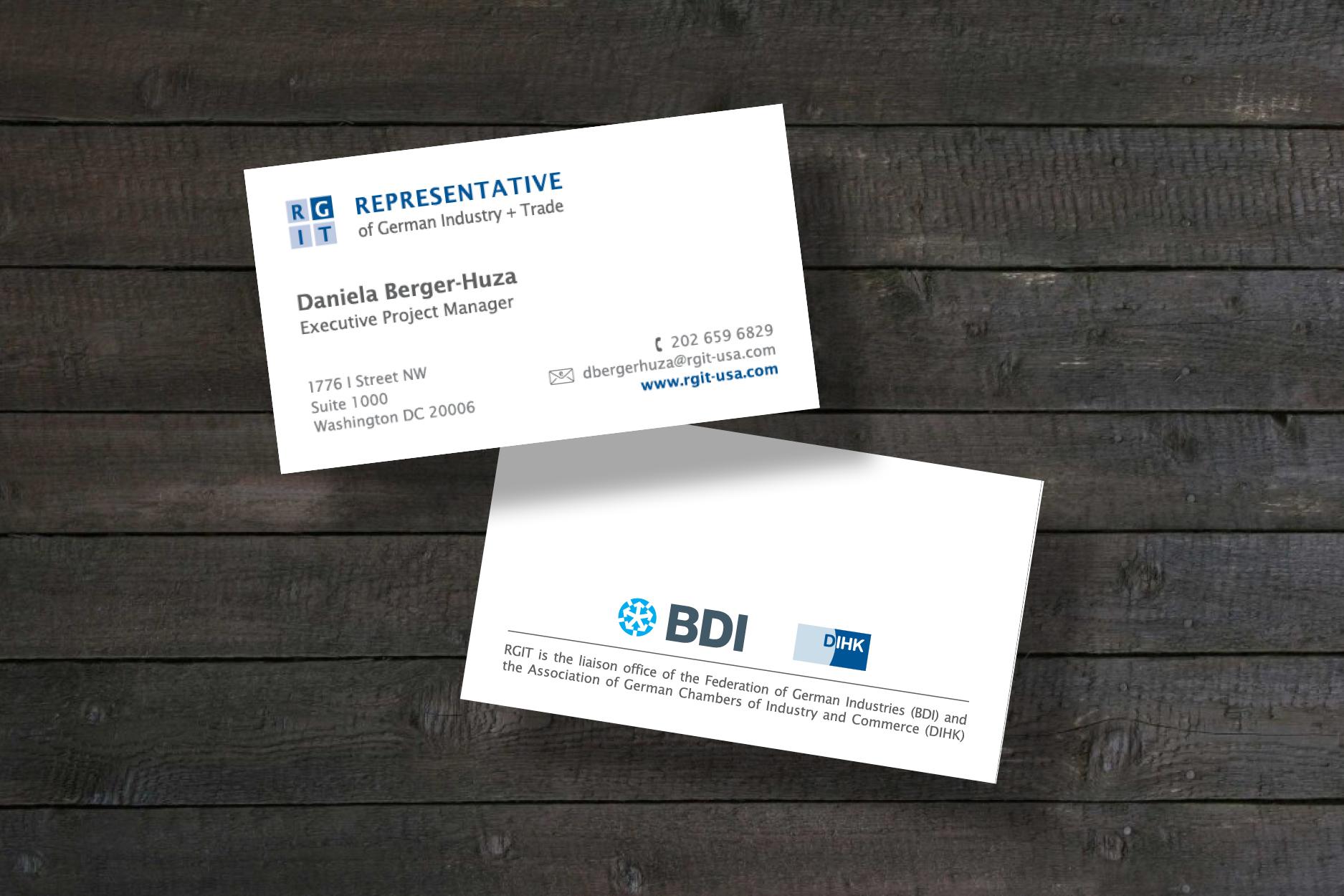 RGIT – Representative of German Industry Trade Aram Designs